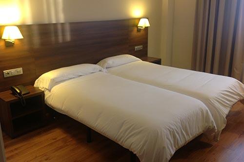 habitacion doble hotel pago del olivo